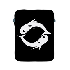 White fishes Apple iPad 2/3/4 Protective Soft Cases
