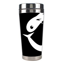 White fishes Stainless Steel Travel Tumblers