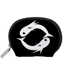 White fishes Accessory Pouches (Small)