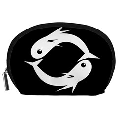 White fishes Accessory Pouches (Large)