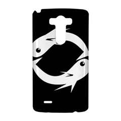 White fishes LG G3 Hardshell Case