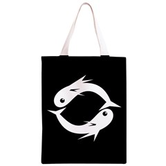 White fishes Classic Light Tote Bag