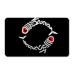 Abstract fishes Magnet (Rectangular)