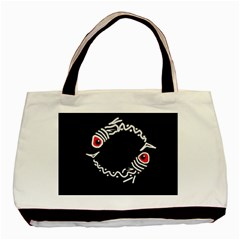 Abstract fishes Basic Tote Bag