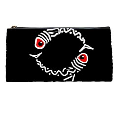 Abstract fishes Pencil Cases
