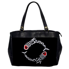 Abstract fishes Office Handbags
