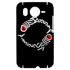 Abstract fishes HTC Desire HD Hardshell Case