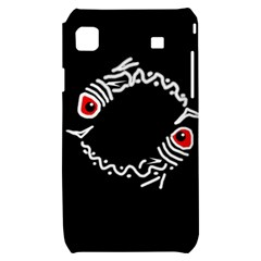 Abstract fishes Samsung Galaxy S i9000 Hardshell Case