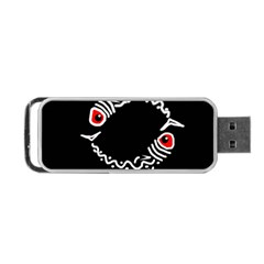 Abstract fishes Portable USB Flash (One Side)