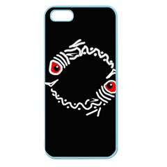 Abstract fishes Apple Seamless iPhone 5 Case (Color)