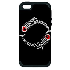 Abstract fishes Apple iPhone 5 Hardshell Case (PC+Silicone)