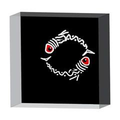 Abstract fishes 5  x 5  Acrylic Photo Blocks