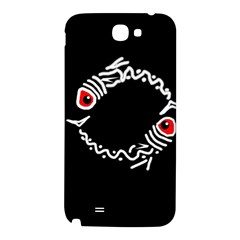 Abstract fishes Samsung Note 2 N7100 Hardshell Back Case