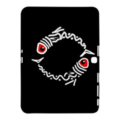 Abstract fishes Samsung Galaxy Tab 4 (10.1 ) Hardshell Case