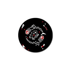 Abstract fishes Golf Ball Marker (10 pack)