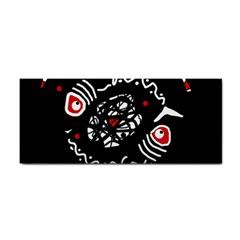 Abstract fishes Hand Towel