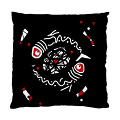 Abstract fishes Standard Cushion Case (One Side)