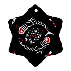 Abstract fishes Ornament (Snowflake)