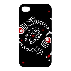 Abstract fishes Apple iPhone 4/4S Hardshell Case
