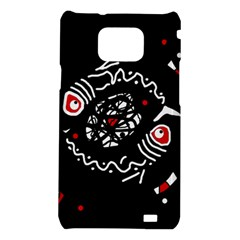 Abstract fishes Samsung Galaxy S2 i9100 Hardshell Case