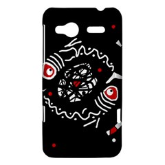 Abstract fishes HTC Radar Hardshell Case