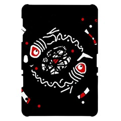 Abstract fishes Samsung Galaxy Tab 10.1  P7500 Hardshell Case