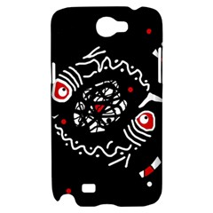 Abstract fishes Samsung Galaxy Note 2 Hardshell Case