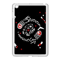 Abstract fishes Apple iPad Mini Case (White)