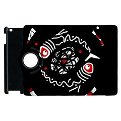 Abstract fishes Apple iPad 3/4 Flip 360 Case