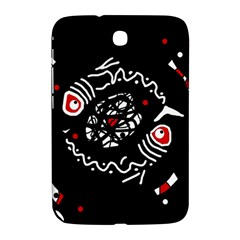 Abstract fishes Samsung Galaxy Note 8.0 N5100 Hardshell Case