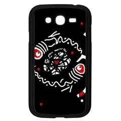Abstract fishes Samsung Galaxy Grand DUOS I9082 Case (Black)