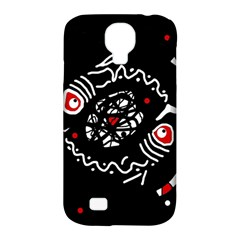 Abstract fishes Samsung Galaxy S4 Classic Hardshell Case (PC+Silicone)