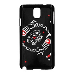Abstract fishes Samsung Galaxy Note 3 Neo Hardshell Case (Black)