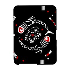 Abstract fishes Amazon Kindle Fire (2012) Hardshell Case