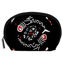 Abstract fishes Accessory Pouches (Large)