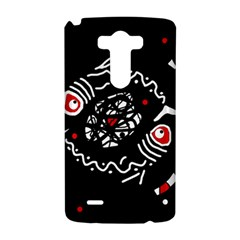 Abstract fishes LG G3 Hardshell Case