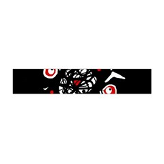 Abstract fishes Flano Scarf (Mini)