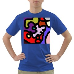Colorful abstraction by Moma Dark T-Shirt