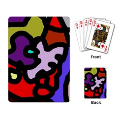 Colorful abstraction by Moma Playing Card