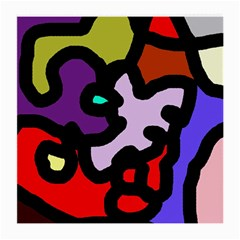 Colorful abstraction by Moma Medium Glasses Cloth (2-Side)