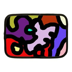 Colorful abstraction by Moma Netbook Case (Medium)