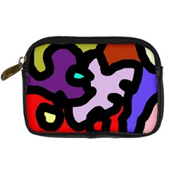 Colorful abstraction by Moma Digital Camera Cases