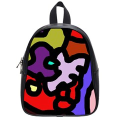 Colorful abstraction by Moma School Bags (Small)