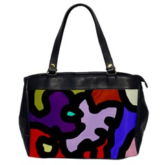 Colorful abstraction by Moma Office Handbags