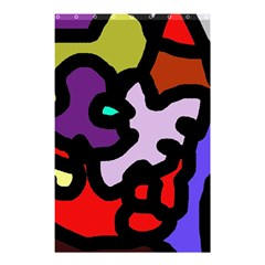 Colorful abstraction by Moma Shower Curtain 48  x 72  (Small)