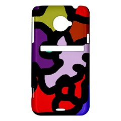 Colorful abstraction by Moma HTC Evo 4G LTE Hardshell Case