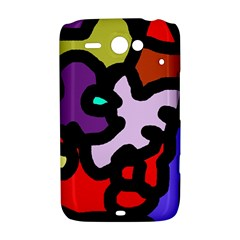 Colorful abstraction by Moma HTC ChaCha / HTC Status Hardshell Case