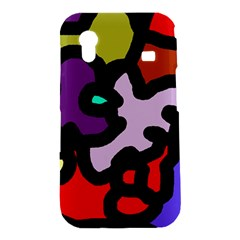 Colorful abstraction by Moma Samsung Galaxy Ace S5830 Hardshell Case