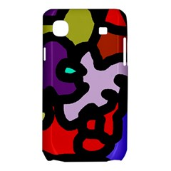 Colorful abstraction by Moma Samsung Galaxy SL i9003 Hardshell Case