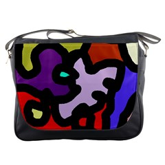 Colorful abstraction by Moma Messenger Bags